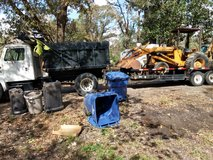 Debris clean up in DeRidder, Louisiana