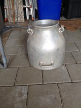Milkcan , Ritter Aluminium, large wide belly in Stuttgart, GE
