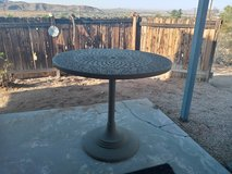 Wrought iron patio table & 4 chairs in Yucca Valley, California