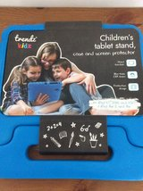 Kids/Child's Blue iPad Protective Carry Case and Screen Protector in Lakenheath, UK