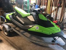 Sea Doo Jet Ski - 2016 Spark 3 UP 900 HO ACE and Trailer. in Kingwood, Texas