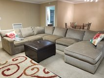 Sofa with Chaise in Kingwood, Texas