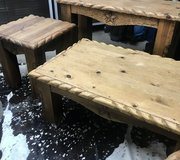 Rustic Coffee Table/Console/2 End Tables in Kingwood, Texas