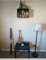 Crate/Shelf with matching table and lamp in Bellaire, Texas