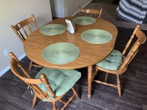 Wood Table & 4 Chairs in Converse, Texas