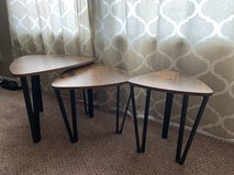 End Tables set of 3 in Converse, Texas