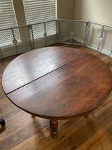 antique table with wheels in San Antonio, Texas