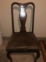 4 wood chairs in Tomball, Texas