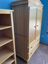 Three pieces of bedroom furniture. Practically in perfect condition in St. Charles, Illinois