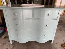 Vintage dresser vanity in Chicago, Illinois
