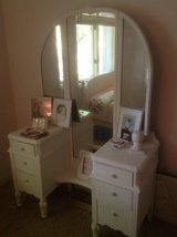 Vintage  White Dresser in Batavia, Illinois