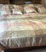 Comforter, Shams and Deco pillows in Sandwich, Illinois