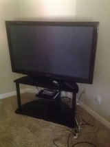 """55"""" Panasonic TV and stand in Naperville, Illinois"""