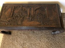 Vintage Japanese hand carved coffee table in Cleveland, Texas