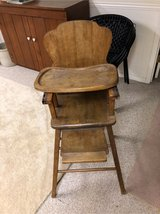 antique baby chair in St. Charles, Illinois