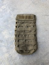 Tac Shield Hydration Carrier Molle Coyote Made in USA in Camp Pendleton, California
