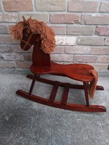 Rocking horse in The Woodlands, Texas