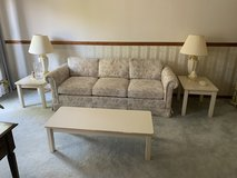 Floral Couch and Loveseat in Naperville, Illinois