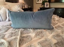 Lumbar pillow - blue in Chicago, Illinois
