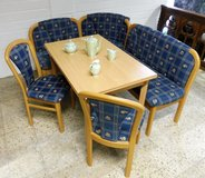 Nice Breakfast Corner Set with Extendable Table in Ramstein, Germany