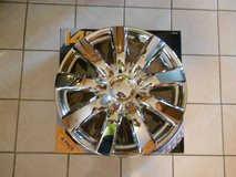 14 inch Chrome Wheel Covers. New! in Joliet, Illinois