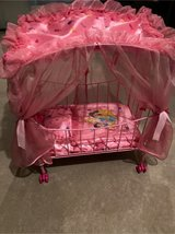 princess canopy doll bed in Naperville, Illinois