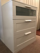 2 x BRIMNES 3-drawer chest in Great Lakes, Illinois