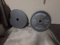 Olimpic weights 45 pound plates in Kingwood, Texas