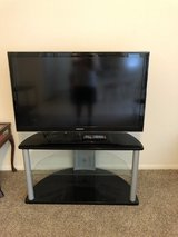 "Samsung 46"" TV with stand in Kingwood, Texas"