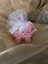 baby shower carriage party favor in Columbia, South Carolina