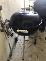 Weber Charcoal Grill in Okinawa, Japan