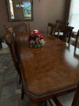 Formal Dining Table with 10 Chairs REDUCED ! in Kingwood, Texas