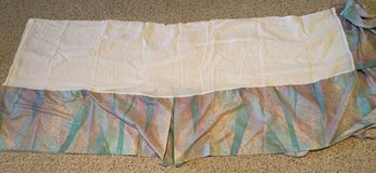 twin comforter, shams, bed skirt, and 2 pair balance in Naperville, Illinois