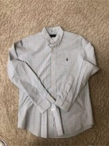 Men's Small Check Shirt by Ralph Lauren Size Medium in Batavia, Illinois