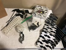 Mustache Themed Party Supplies in Warner Robins, Georgia