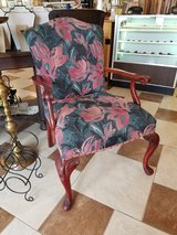Vintage Accent Chair w/ Fresh Upholstery in Fort Leonard Wood, Missouri