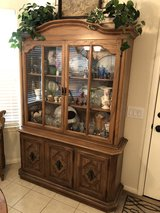 China cabinet in Cleveland, Texas