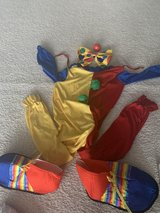 KIDS CLOWN COSTUME, CLOWN SUIT, SHOES, NOSE AND NECK BOW INCLUDED! in Westmont, Illinois