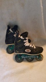 Mission Roller Hockey skates (used)(13Y) in Clarksville, Tennessee