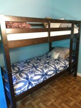 Bunk bed with mattresses in Beaufort, South Carolina