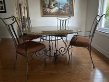 Granite dining room table for chairs in Kissimmee, Florida