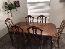 Dining room table in Yucca Valley, California