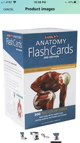 Anatomy Flash Cards in St. Charles, Illinois