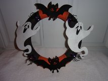 Halloween Wreath.Ghosts, Bats, Spiders in Fort Hood, Texas