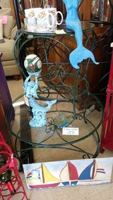 Iron & Glass Coffee Table with 2 End Tables #2362-12 in Camp Lejeune, North Carolina