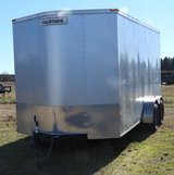 16' VEE NOSE COVERED TRAILER in Longview, Texas