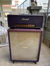Marshall 1982 Purple Jimi Hendrix amp head 100 watts  all tube (Plexi) + 4x12 greenbacks in Okinawa, Japan
