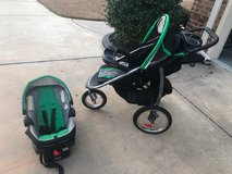 Graco Jogging Stroller - Click Connect Travel System in Warner Robins, Georgia