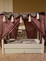 Canopy Bed for American Girl Sized Dolls in Naperville, Illinois