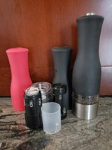 Salt & Pepper Black Electric Grinders in Batavia, Illinois